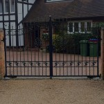 Berkshire metal gate